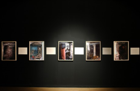 Installation view at Paradise Row Gallery, London