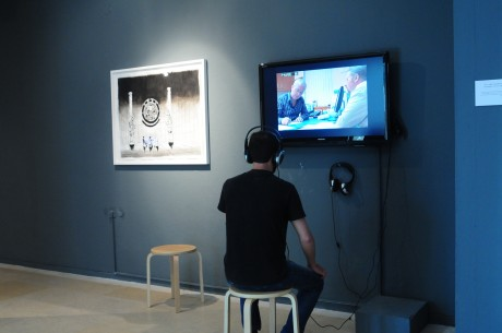 Installation view at the CCA, Tel-Aviv